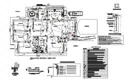 mcc panel Design dwg file