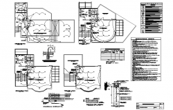 Zone control valve assembly details dwg file