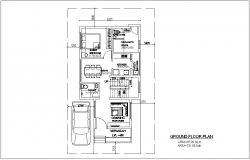 Bungalows dwg autocad drawing