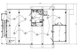 Architecture House plan CAD Drawings here find open house