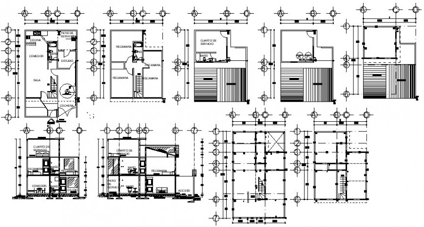 2d cad drawing of electrical point plan auto cad software