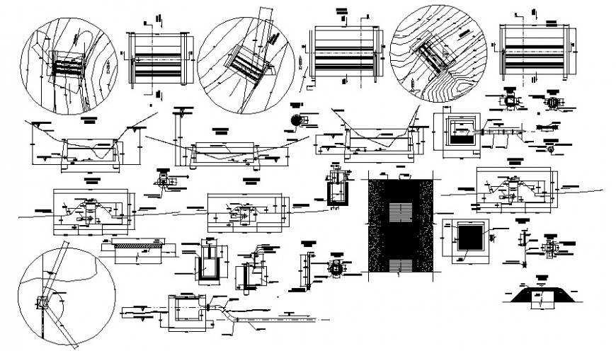 2d cad drawing of electrical wire connection auto cad