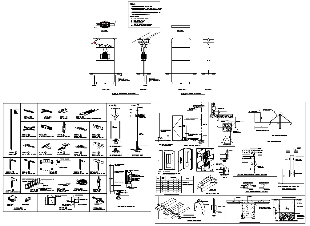 AutoCAD DWG Drawing file shows the details of the