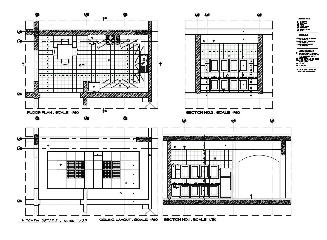 Ceiling Layout Floor Plan Scale Furniture And Interior