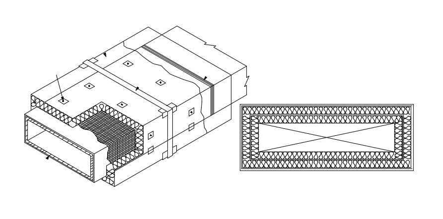 Duct Design AutoCAD Drawing Download