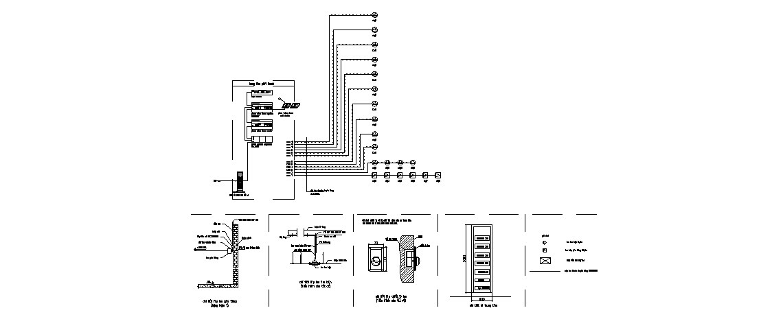 Electrical equipment and installation details of apartment