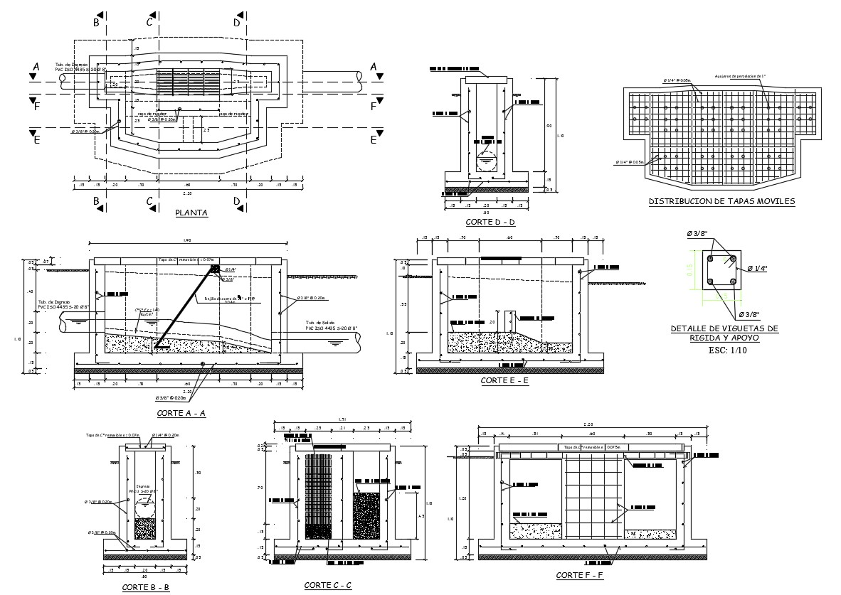 Free Download Rcc Water Tank Design With Plan And Sections