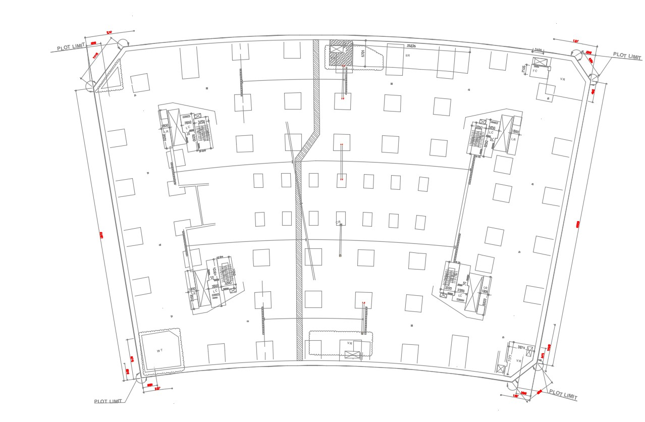 Autocad Dwg Cafe Plan