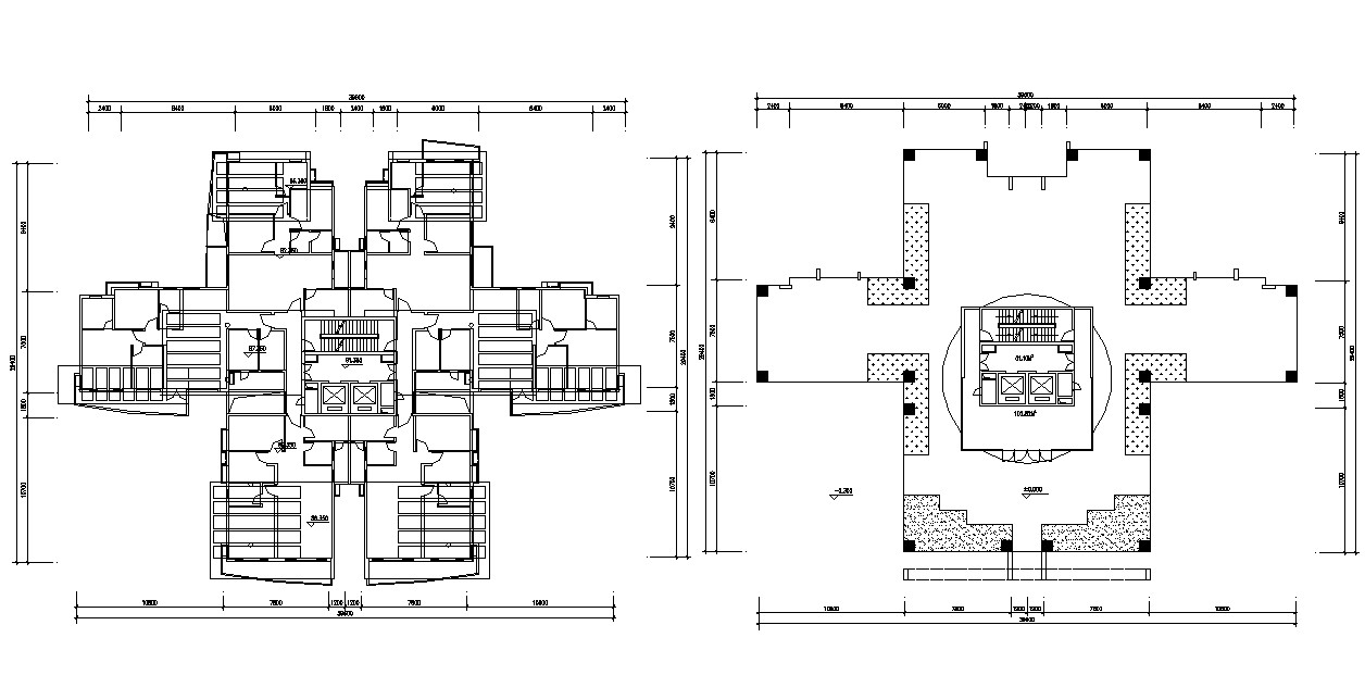 Free Download The Terrace Plan Of Apartment With Dimension