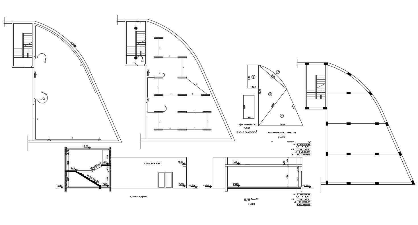 Residential House Electrical Layout Plan AutoCAD File