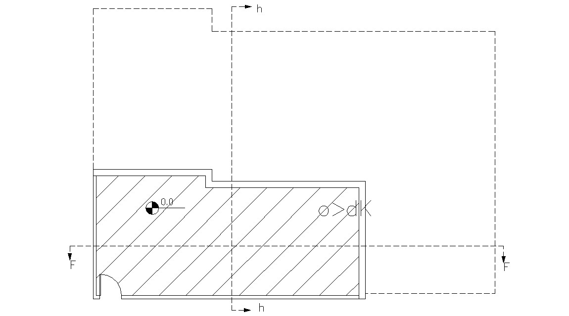 Simple Autocad House Plans Drawings Free Download