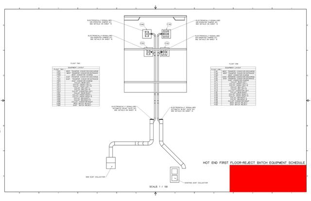 Industrial Ventilation Design to Collect Respirable Silica