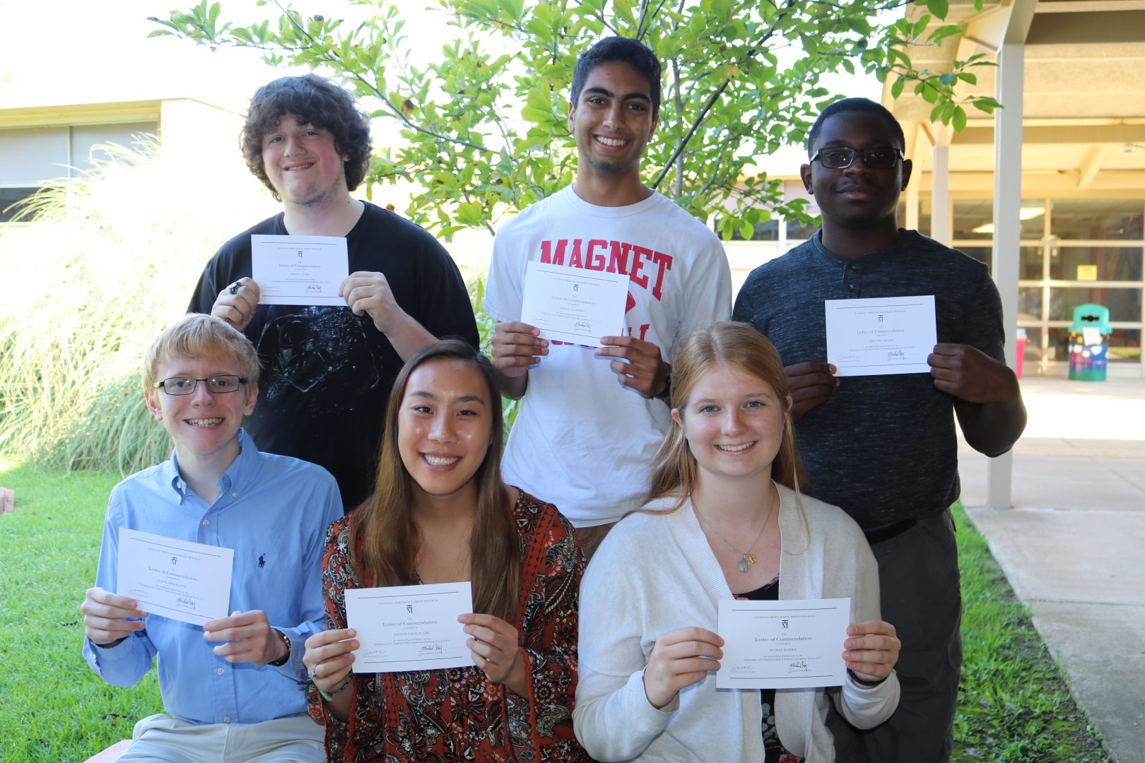 Seven Caddo Magnet Students Designated As National Merit Commended