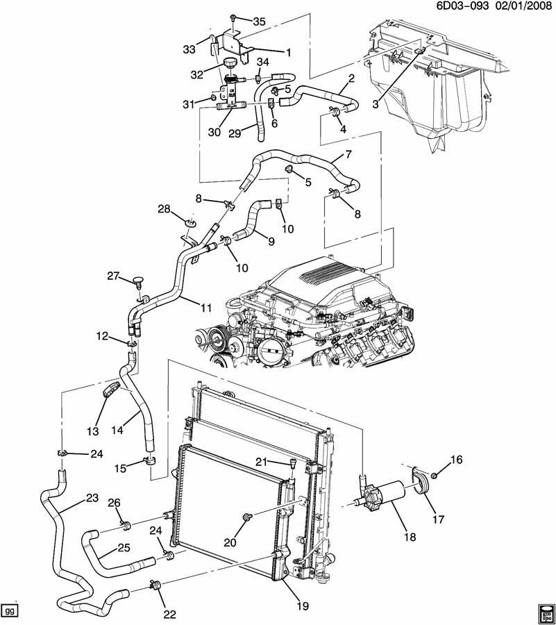 cadillac cts 2011 engine coolant