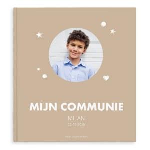 Momenten fotoboek - Mijn communie - XL - Hardcover - 40 pagina's