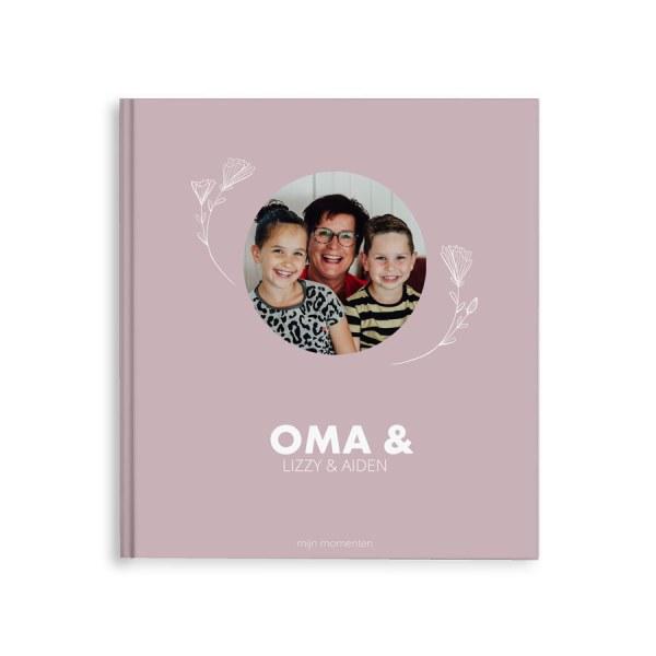 Momenten fotoboek - Oma & ik/wij - M - Hardcover - 40 pagina's