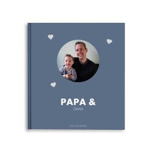 Momenten fotoboek - Papa & ik/wij - M - Hardcover - 40 pagina's