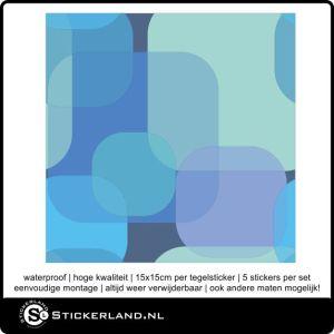 Tegelstickers Fullcolor 009 (set van 5 stuks)