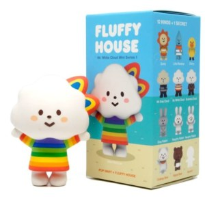 POP MART POP MART Fluffy House serie 1 blind box