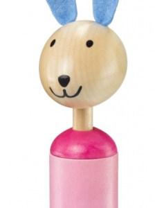Selecta Spielzeug tuimelaar Anni meisjes 17 cm hout