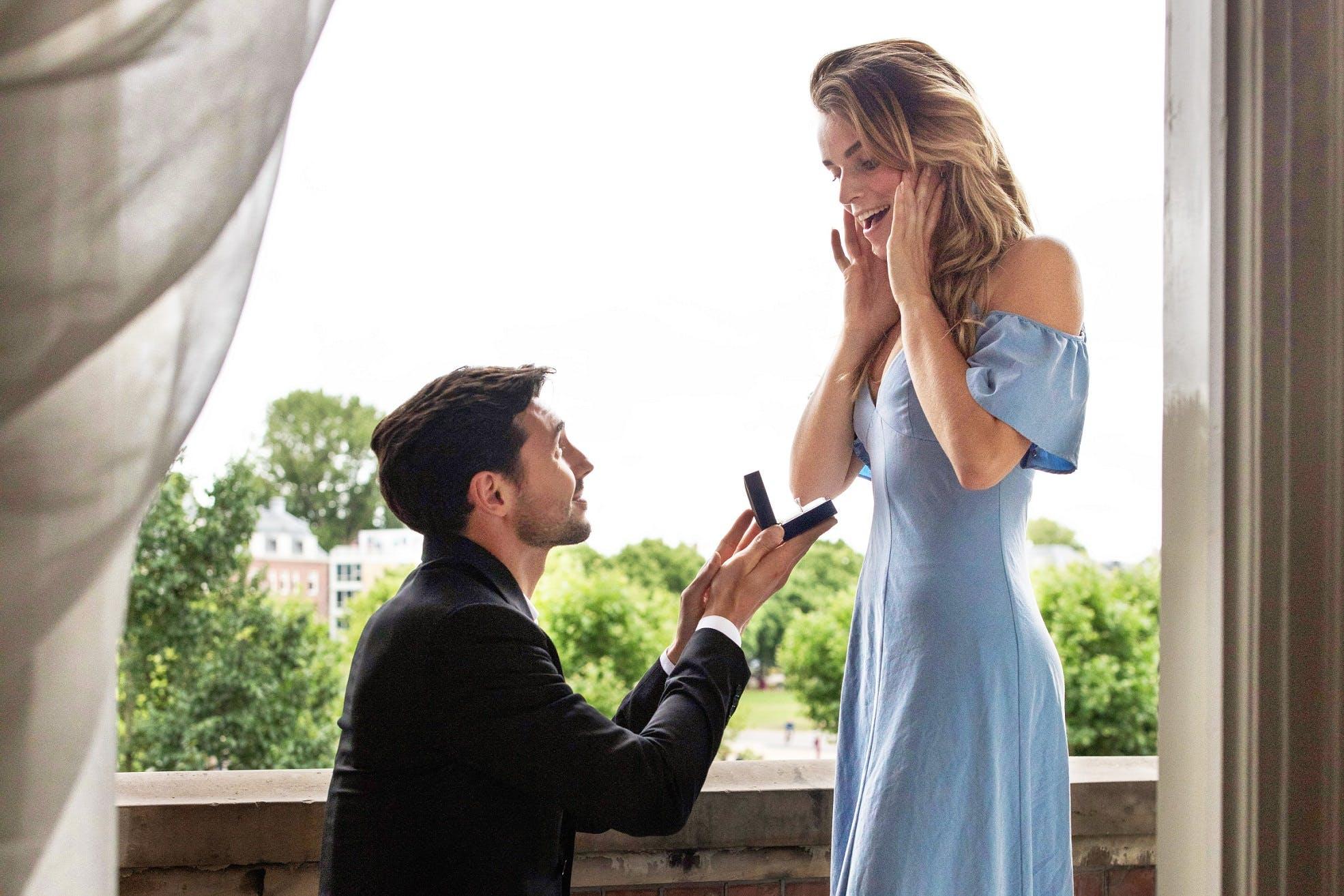 De diamanten verlovingsring workshop