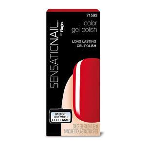 Sensationail Gellak Scarlet Red