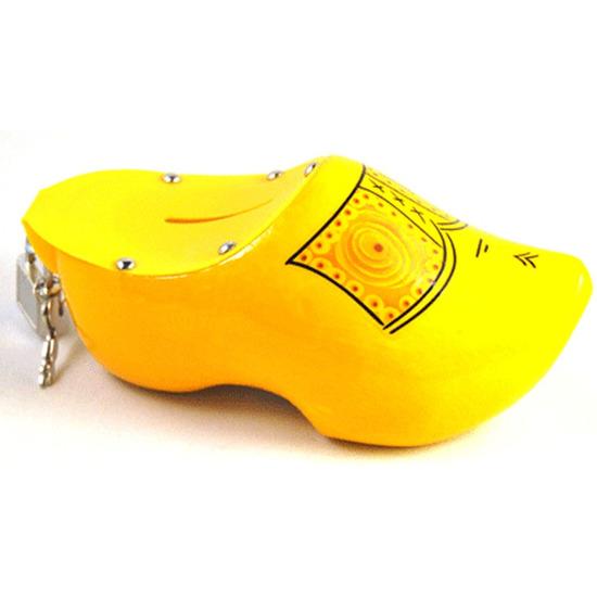 Klompen spaarpotten geel