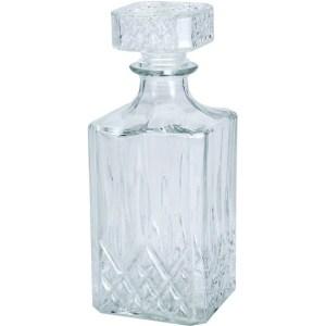 Glazen whisky/water karaf 900 ml/9 x 23 cm kristal