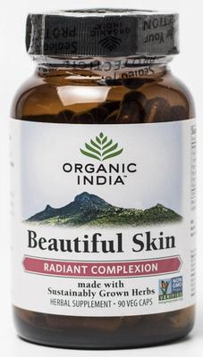 Organic India Beautiful skin caps 90ca
