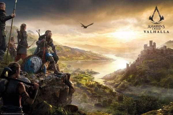 GBeye Assassins Creed Valhalla Vista Poster 91,5x61cm