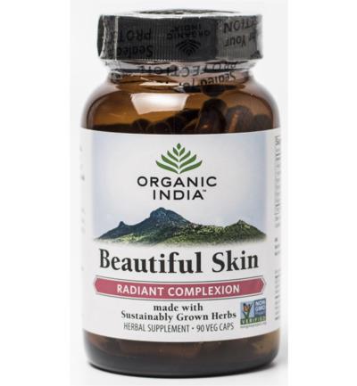 Organic India Beautiful Skin Caps (90ca)