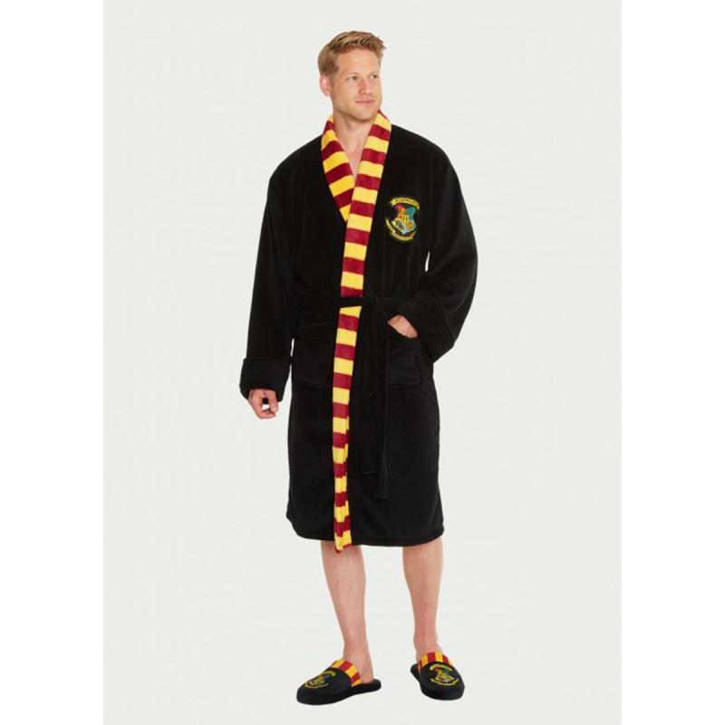 Robe De Chambre Harry Potter Poudlard Avec Capuche Et