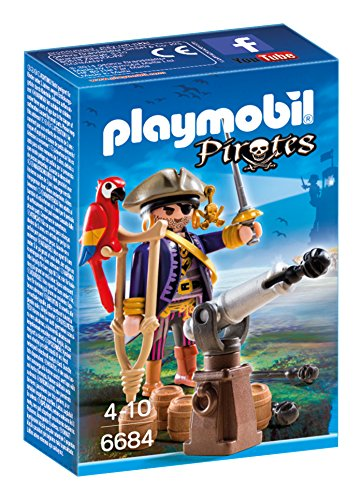 Playmobil – 6684 – Capitaine pirate avec canon