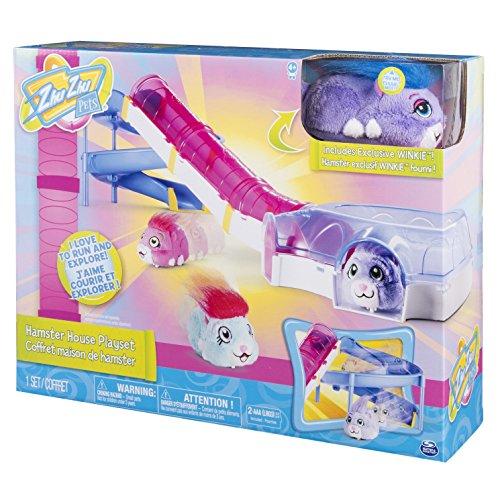 Splash-Toys-32303-Maison-de-Peluche-Zhu-Zhu-Pets-House-Playset-Maison-pour-Hamster-0