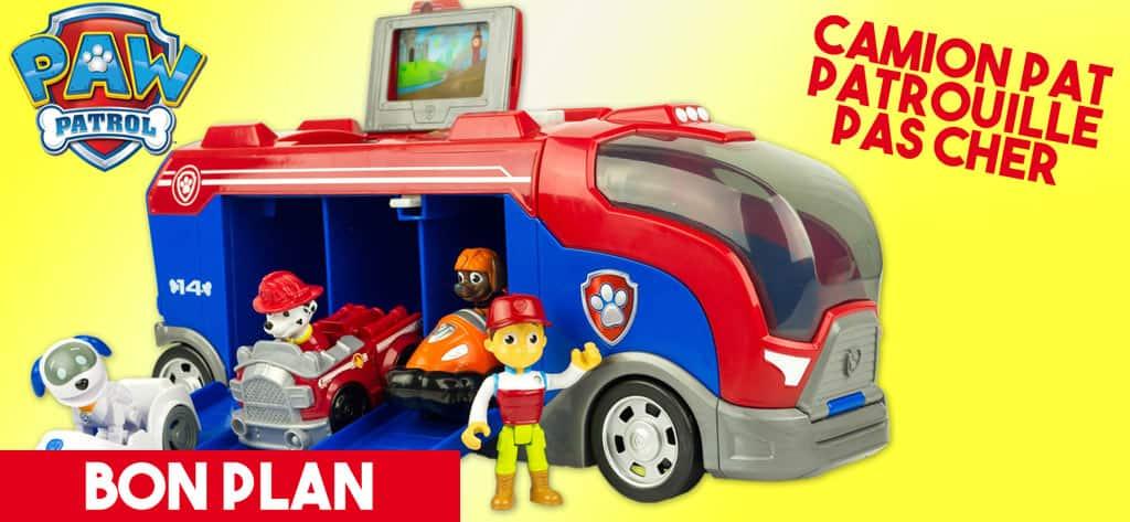 camion pat patrouille en promo