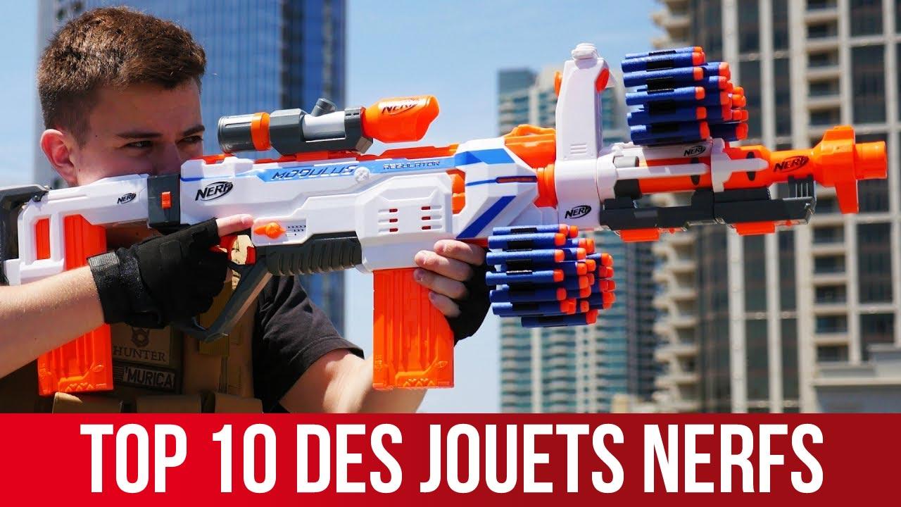 top 10 meilleurs jouets nerf noel
