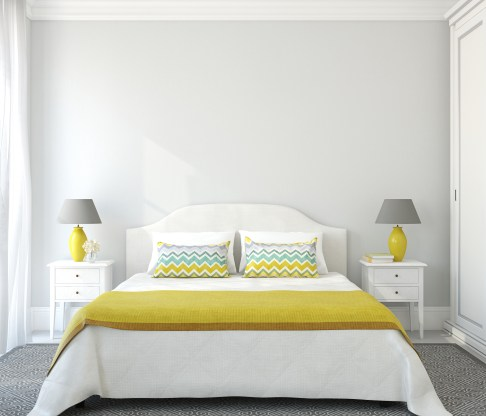 How to make money quickly - rent out spare bedroominterior. 3d render.