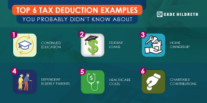 tax deduction examples