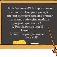 É de Fato um Golpe de Estado que Querem Impingir no Brasil! - parte I