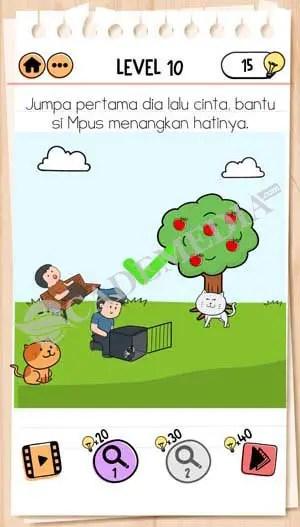 Brain Test 2 Mpus : brain, Kunci, Jawaban, Brain, Petualangan, Level, CadeMedia.com
