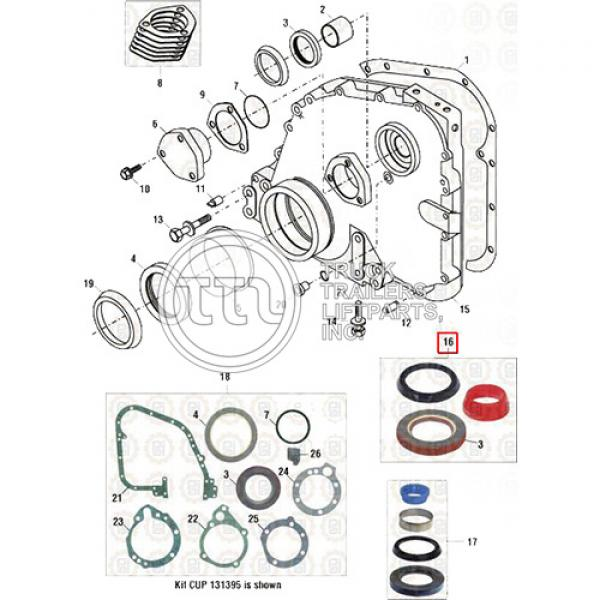 Sello Tapa Distribucion (kit) Cum3800616