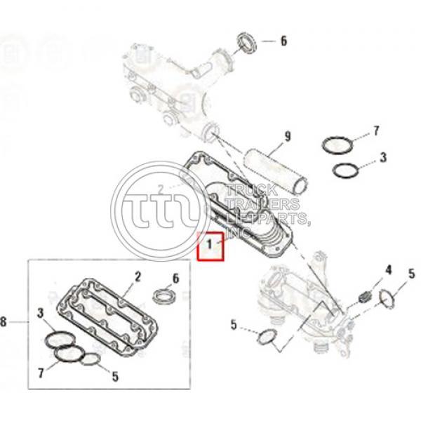 Oil Cooler Motor Det23522416