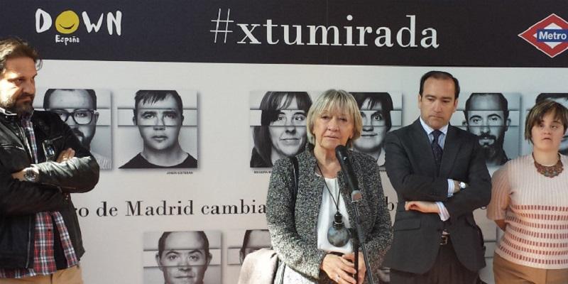 Metro de Madrid recibe un premio por su apoyo a personas con síndrome de Down