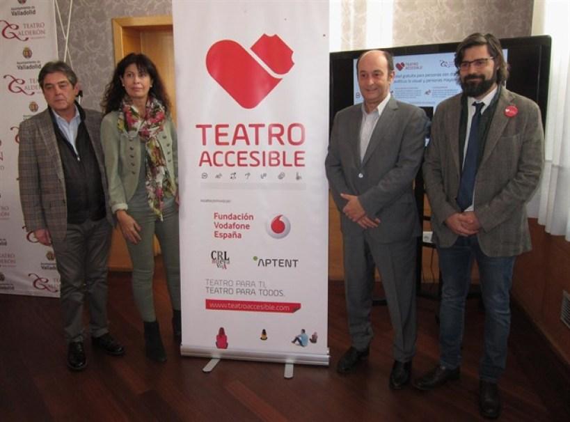 """El Calderón se suma al """"Teatro Accesible"""" iniciativa de Aptent Soluciones y la Fundación Vodafone"""