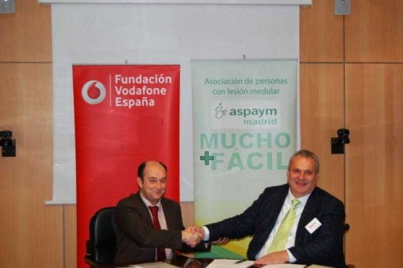 Fundación Vodafone colabora con Aspaym Madrid en la integración laboral de las personas con discapacidad