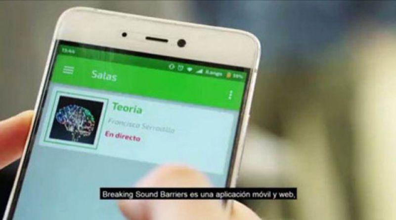 Breaking Sound Barriers, la App para la integración