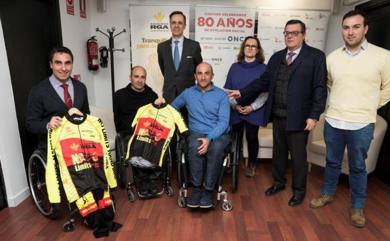 Seguros RGA y Fundación ONCE donan material deportivo de ciclismo adaptado