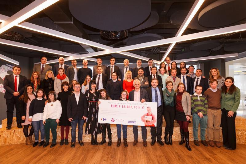 Fundación Solidaridad Carrefour dona 18.462 euros para la integración laboral de personas con discapacidad