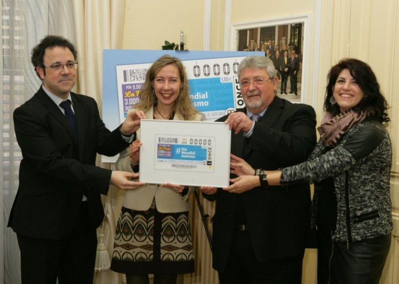 El Día Mundial de Concienciación sobre el Autismo protagoniza el cupón de la ONCE del próximo lunes, 2 de abril
