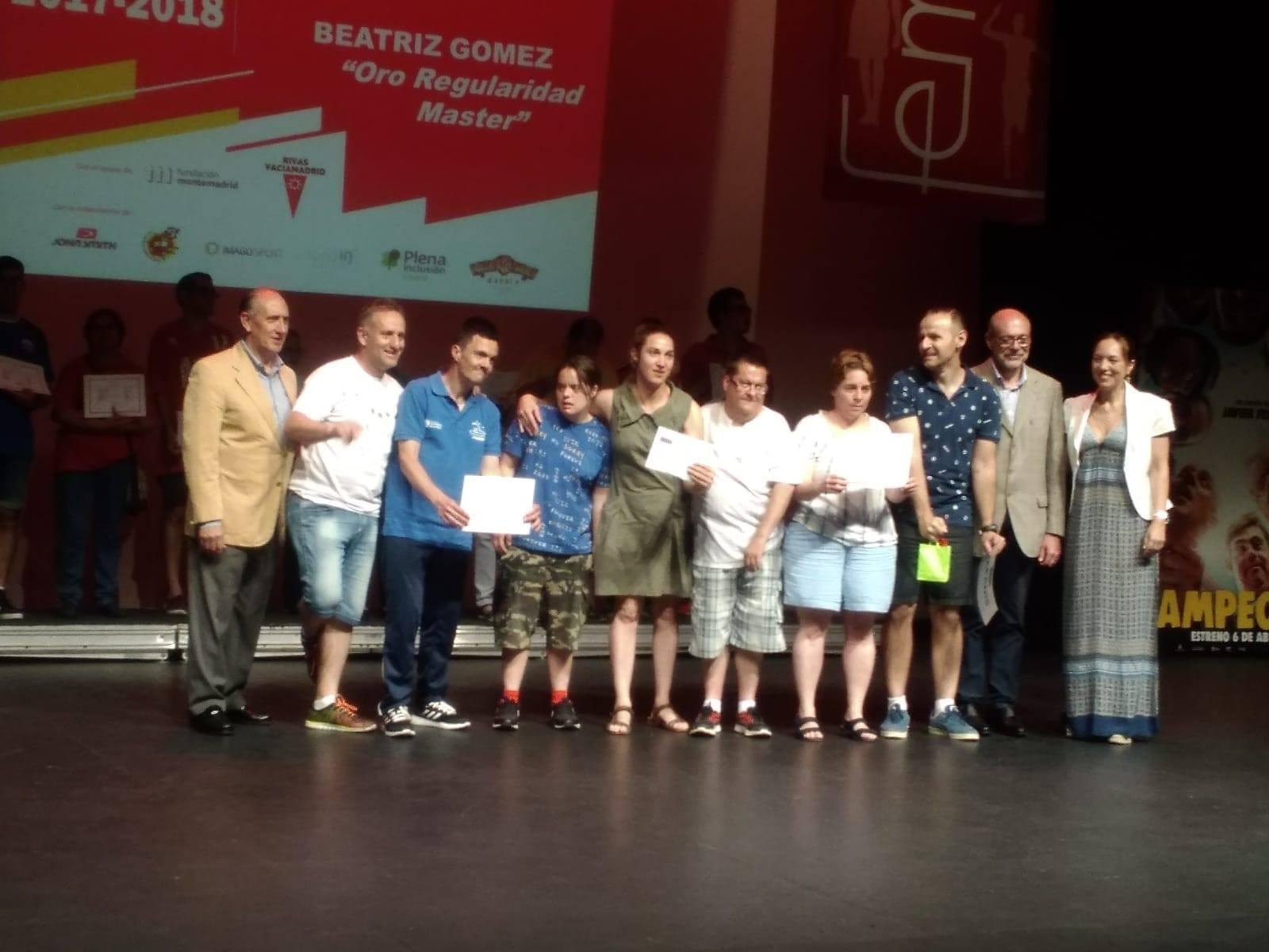 Apadis y sus deportistas reconocidos en la Gala del Deporte de Femaddi